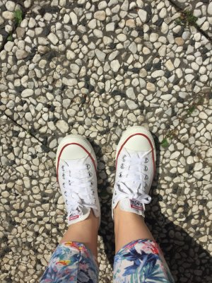 Converse low Sneaker weiß