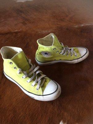 Converse Originale gelb, hoch, Gr 39