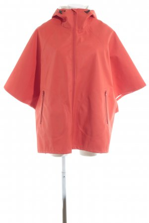 Converse Poncho para lluvia naranja neón look Street-Style