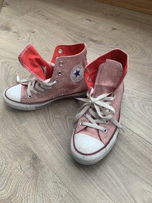 Converse rosa/rot meliert