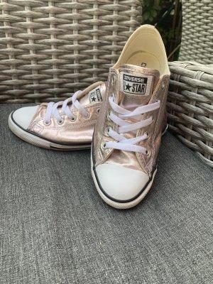 Converse, rosé metallic, Größe 38,5