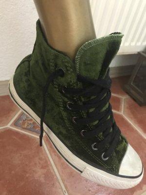 Converse Samt grün Gr 36, top!!! KP 130€