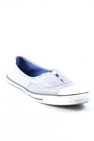 Converse Schlüpfschuhe graublau sportlicher Stil