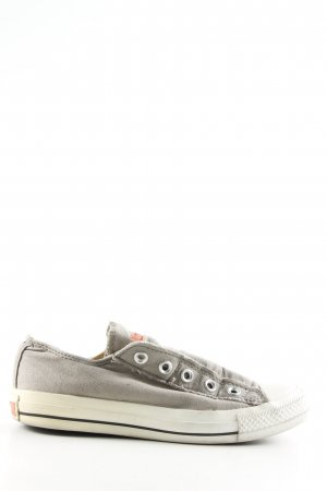 Converse Slip-on Sneakers light grey-white casual look