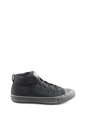Converse Schnürschuhe schwarz sportlicher Stil