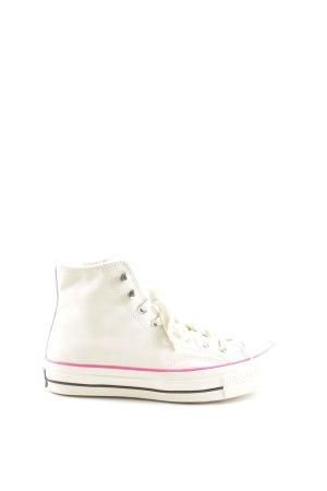 Converse Schnürschuhe creme-pink schlichter Stil