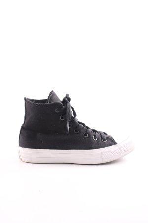 Converse Schnürschuhe schwarz-weiß Casual-Look