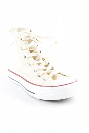 Converse Zapatos brogue beige claro-blanco look casual