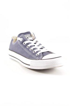 Converse Schnürschuhe kornblumenblau-weiß Casual-Look