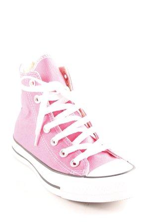 Converse Schnürschuhe pink-weiß Casual-Look