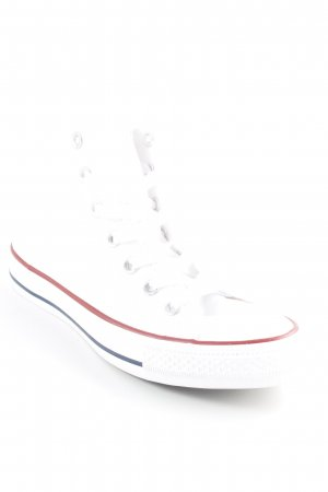 Converse Zapatos brogue blanco estilo College