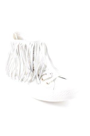 Converse Schnürschuhe weiß extravaganter Stil