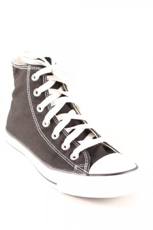 Converse Schnürschuhe weiß-schwarz Casual-Look