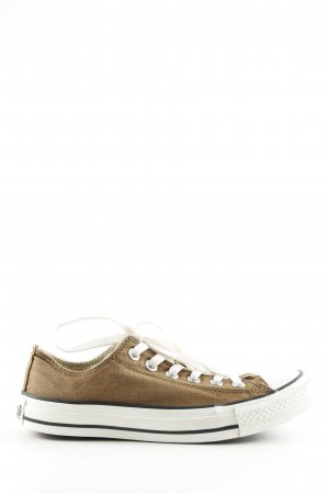 Converse Lace-Up Sneaker bronze-colored-white casual look