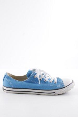 Converse Schnürsneaker blau-weiß sportlicher Stil