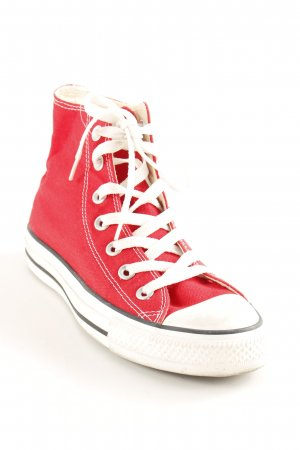 "Converse Zapatilla brogue ""ALL STAR HI"" rojo"