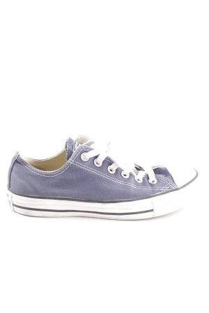 Converse Schnürsneaker blau-weiß Casual-Look