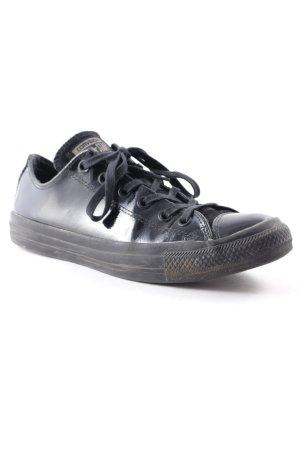 "Converse Schnürsneaker ""Chuck Taylor – Lack-Sneakers mit niedrigem Schaft"""