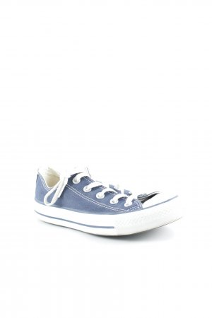 Converse Sneaker stringata blu scuro-bianco stile universitario