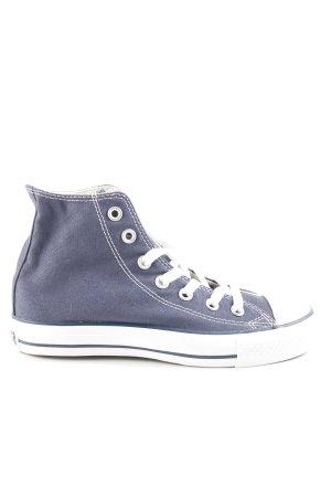 Converse Schnürsneaker dunkelblau-weiß Skater-Look