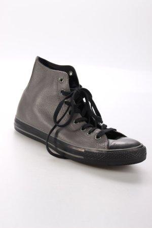 Converse Schnürsneaker grau-schwarz schlichter Stil
