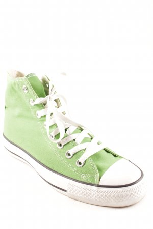 Converse Lace-Up Sneaker green '90s style