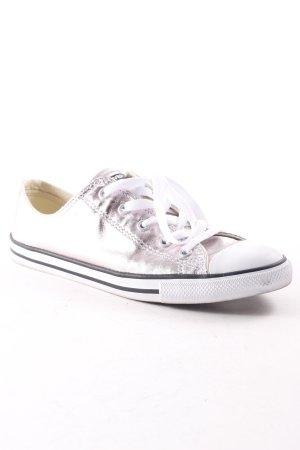 Converse Sneaker stringata multicolore scintillante