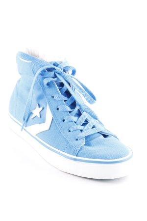 Converse Schnürsneaker neonblau-weiß Casual-Look
