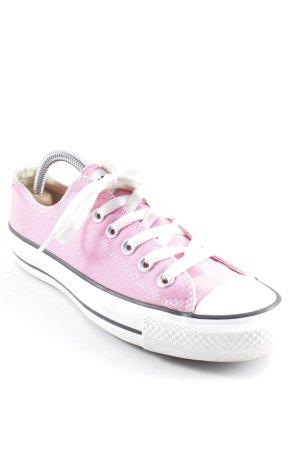 Converse Schnürsneaker rosa-weiß sportlicher Stil