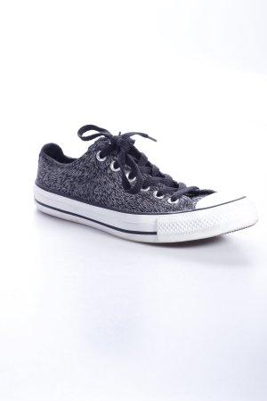 Converse Zapatilla brogue negro-gris claro estilo deportivo