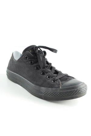 Converse Schnürsneaker schwarz minimalistischer Stil