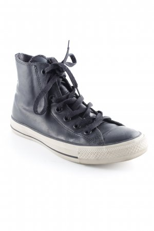 Converse Zapatilla brogue negro estilo skater