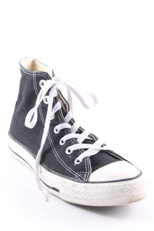 Converse Schnürsneaker schwarz-weiß Casual-Look