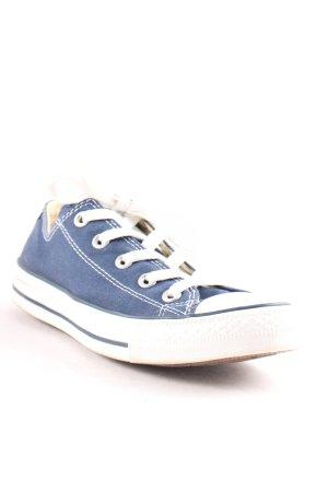 Converse Schnürsneaker weiß-dunkelblau sportlicher Stil