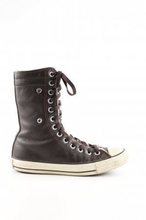 Converse Lace-up Boots black casual look