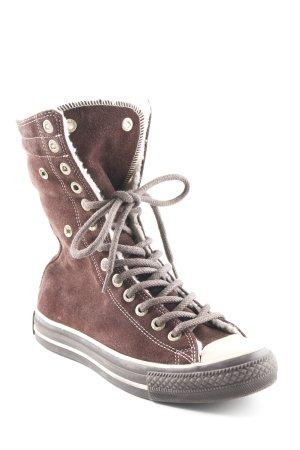 Converse Aanrijg laarzen donkerbruin klassieke stijl