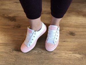 Converse Schuhe Chuck Taylor All Star Weiß Rosé Gr.36