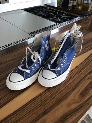 Converse Lace Shoes cornflower blue