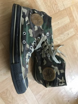 Converse Schuhe high Top Camouflage