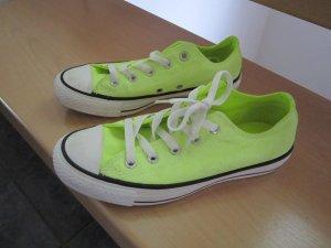 Converse Schuhe in neon gelb