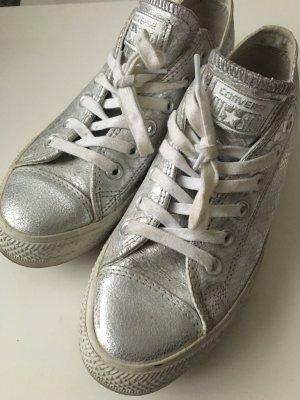 Converse Schuhe in Silber