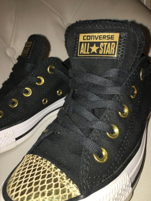 Converse Sneakers black-gold-colored