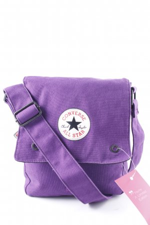Converse Schultertasche lila Casual-Look