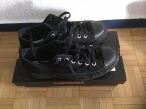 Converse Sneacker Plateau, schwarz, sehr guter Zustand