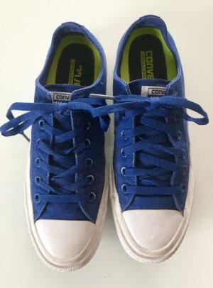 Converse Lace-Up Sneaker blue-white