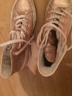 Converse sneaker in 36 1/2 in metallic