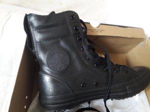 Converse Sneaker Leder Schwarz Gr.37,5