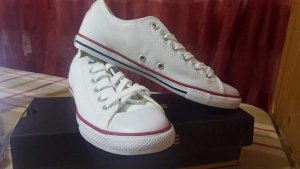 Converse Sneaker Weiß original Gr : 37
