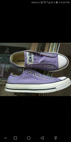 Converse Slip-on Sneakers purple