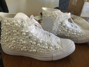 Converse Sneakers mit Perlen